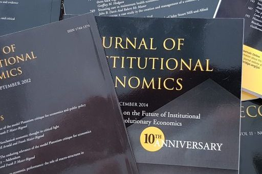 "Welcome to the blog of the ""Journal of Institutional Economics"""